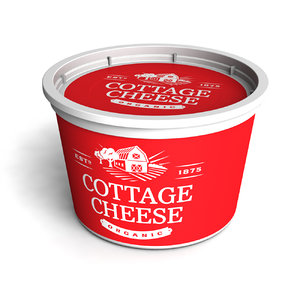 cottage cheese 3D