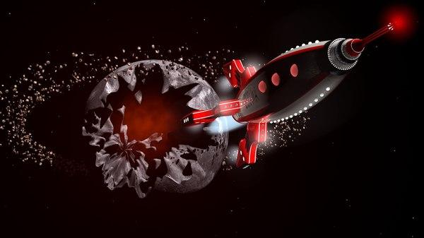 3D rocket