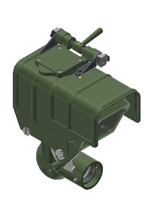 3D model zpu antiaircraft 14 5mm
