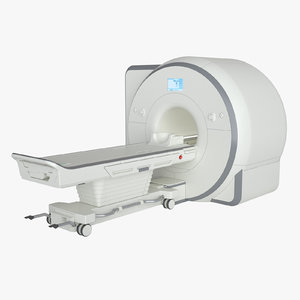 photoreal mri scanner 3D model