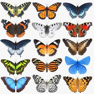 3D mega butterfly model