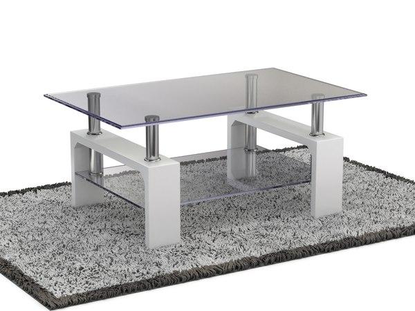 carpet table 3D model