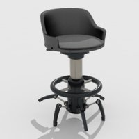 sci-fi spider chair model