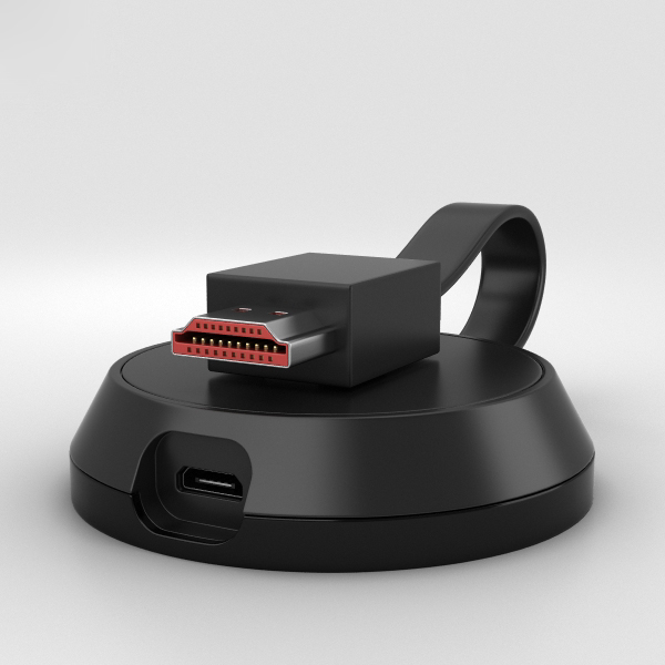 google chromecast ultra 3D model