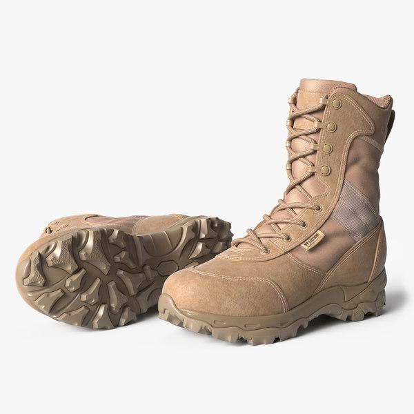 3D blackhawk warrior boots