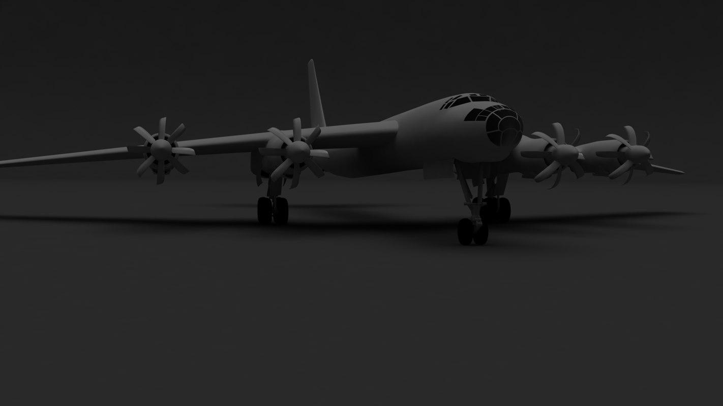 tu-95m tu-95 model