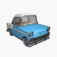 cartoon chevrolet belair 3D model
