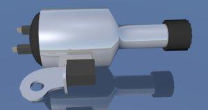 dynamos electrical generators 3D