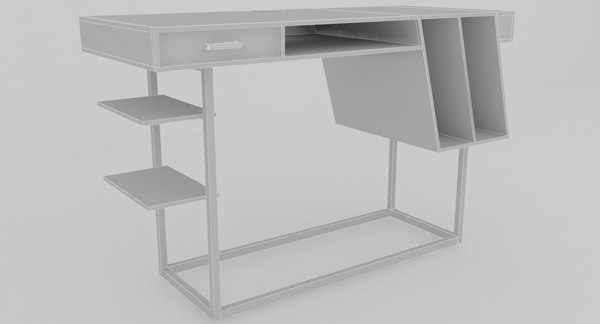 3D model tables desk collections