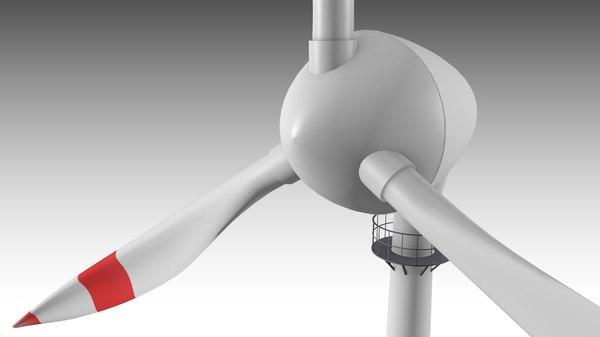 3D turbine wind model