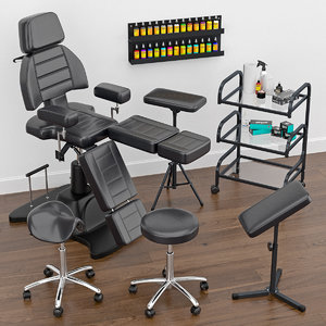 3D model tattoo furniture
