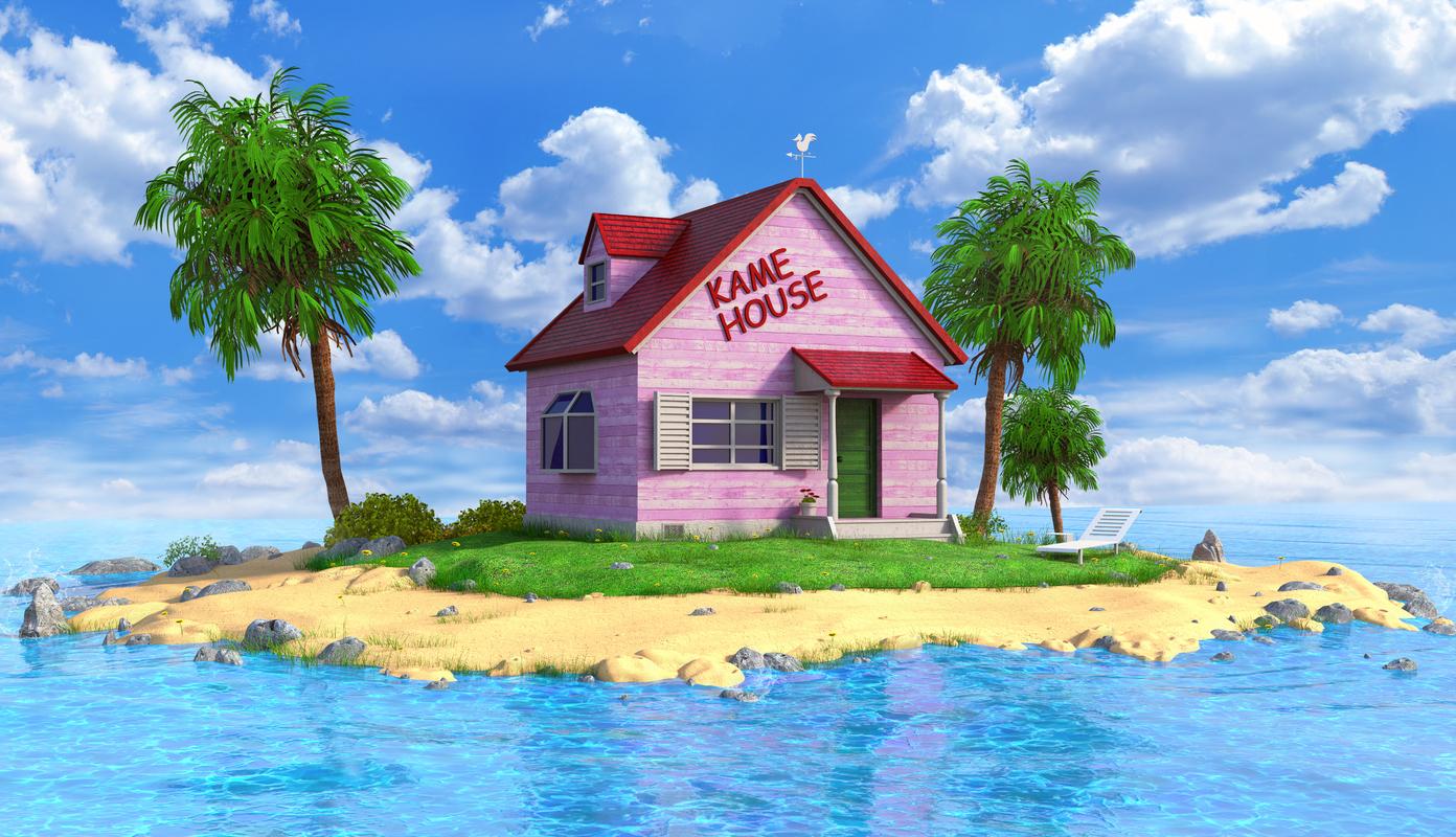 kame house model