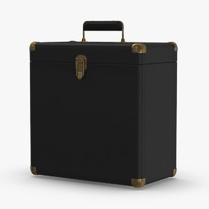 record carrying case - 3D model