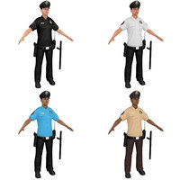 pack female police officer model