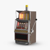 classic slot machine - 3D model