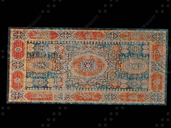 3D floor rug