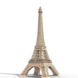 eiffel tower france model