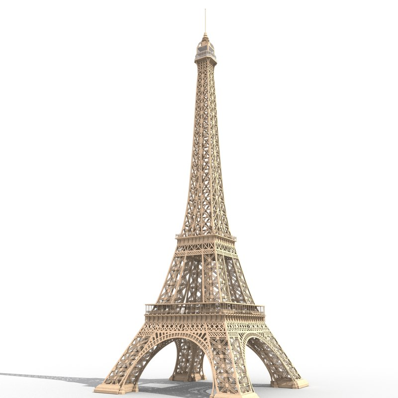 eiffel tower france model