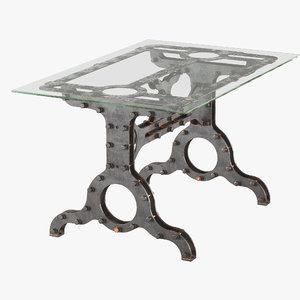 desk machine brothers 3D model