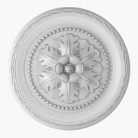 3D rose ceiling medallion m102