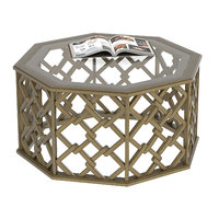 3D brucie hexagonal coffee table