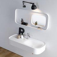 fonte washbasin designers 3D