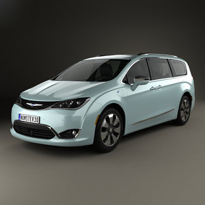 chrysler pacifica hybrid 3D