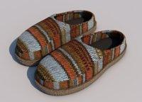 slippers footwear shoes model