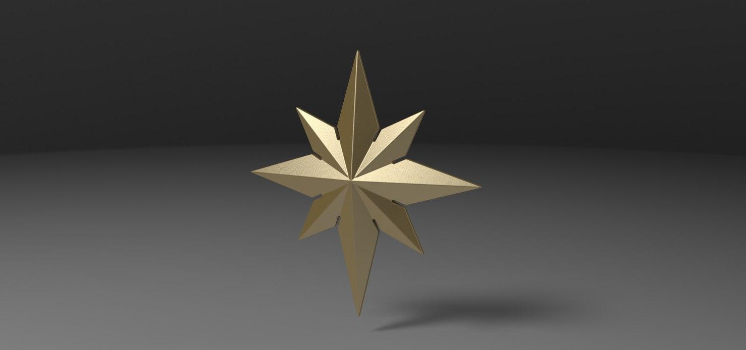 3D emblem captain