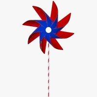 pinwheel wheel 3D model