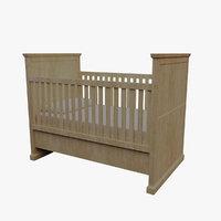 crib 3D model