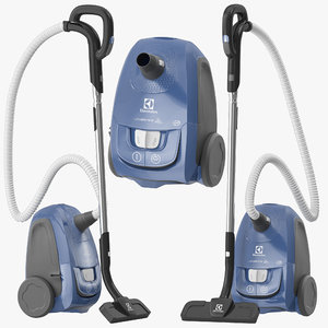 electrolux vacuum cleaner 3D
