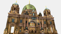 Berlin Cathedral  German Berliner 3d model