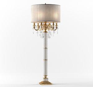 3D classic zanaboni lamp