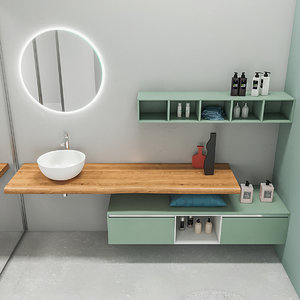 3D model bathroom furniture set arcom