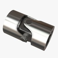 3D model universal joint