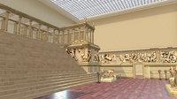 Pergamon Museum Altar Ishtar Gate Mshatta Facade