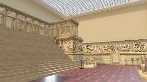 pergamon museum 3D model