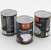 food coconut milk 3D model