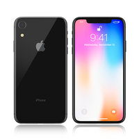 apple iphone 9 black 3D