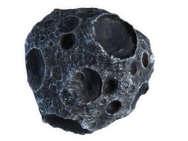 3D asteroid hd model