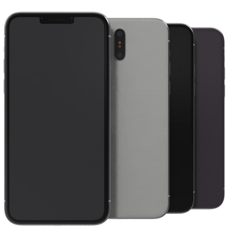 generic smart phone 3D model