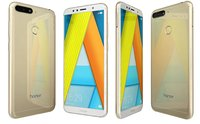honor 7a gold 3D model