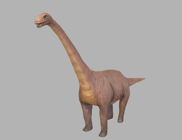 sauropod 3D model