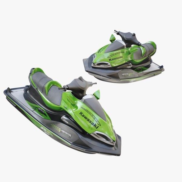 3D jet ski jetski model