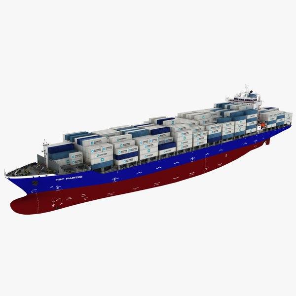 3D container ship phoenix