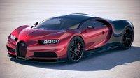 bugatti chiron sport 3D model