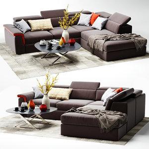 vavicci martin sofa 3D model