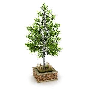 3D street tree planter