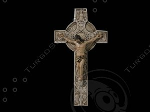 crucifix wall decoration model